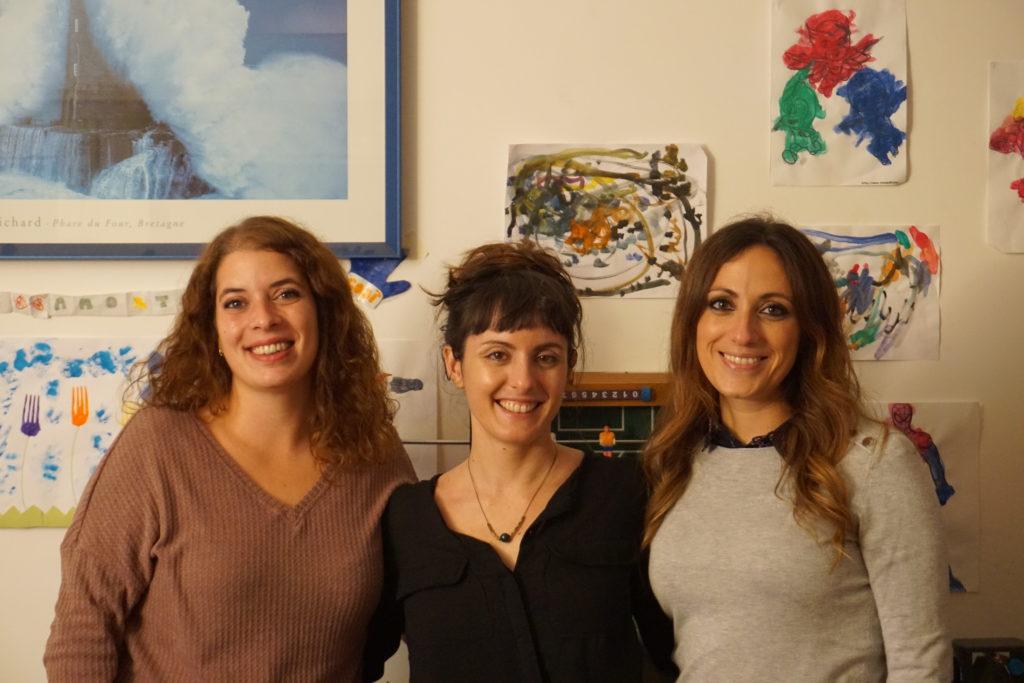 Giorgia, Maria e Federica